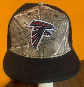 New Era Atlanta Falcons Camo Snapback Hat One Size Fits All