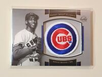 2003 Upper Deck Sweet Spot Classic Ernie Banks Logo Patch card