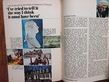 Nov-1972 TV Guide(ALISTAIR  COOKE/DAVID CARRADINE/LAURENCE LUCKINBILL/JOHN WAYNE