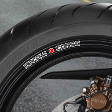DUCATI CORSE CLASSIC  WHEEL RIM STICKERS 999 996 749