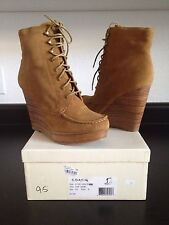 """Coach Poppy """"Liana Luck"""" Suede Boots Size 9.5"""