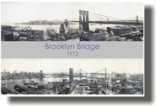 Brooklyn Bridge 1912 New York City -  POSTER
