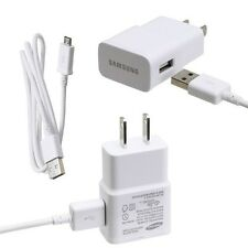 Original OEM Samsung Galaxy S4 USB Data Cable+Home/Wall Charger