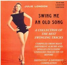 JULIE LONDON - Swing me an old Song - Limited POP CD