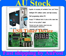 Multi Coin Acceptor selector USB timer control board cafe kiosk for AU coins