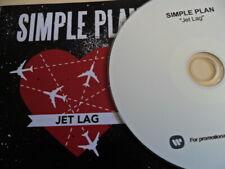Simple Plan: jet lag  (very rare Belgian promo)