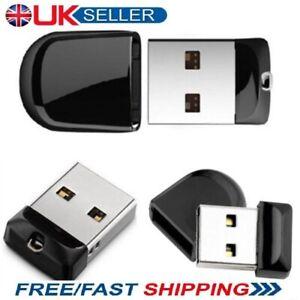 Mini Black USB 2.0 Memory Stick Flash Drive Key Pen Thumb 4/8/16/32/64/128/256GB