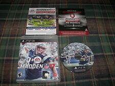 New ListingMadden Nfl 17 Sony PlayStation 3 Ps3 Game w/ Case