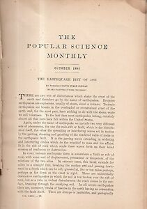 1906 Popular Science October - Difficult Boys; Genius; Luther Burbank's Work