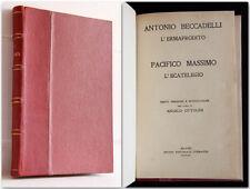 L'ERMAFRODITO - L'ECATELEGIO classici dell'amore edizione limitata de luxe 1922