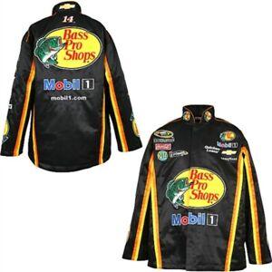 Tony Stewart #14 Nascar Replica Sponsor Youth Black Jacket Size XS