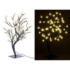 Lunartec LED-Baum mit 64 beleuchteten Blüten, 45 cm, IP44, für innen & außen