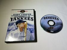 The Pride of the Yankees (DVD, 2002) free shipping