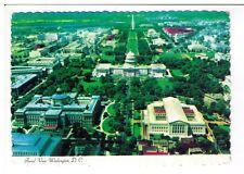 Postcard: Aerial View - U S Capitol Supreme Court Building, Washington DC