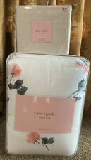 KATE SPADE WILLOW COURT FLORAL FULL QUEEN 3 PC COMFORTER SET Queen Sheets New