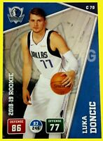 LUKA DONCIC 2018-19 PANINI ADRENALYN EUROPE EDITION ROOKIE RC SSP NBA