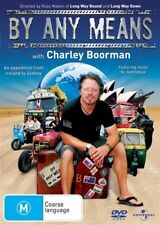 Charley Boorman's By Any Means Region 4, 2xDVDs, New & Sealed, Free Postage