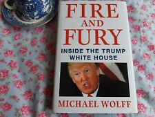 Fire and Fury by Michael Wolff, non fictionBook