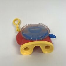 Red and Yellow 3D 2002 Fisher Price View-master Top Load Viewer Toy Hook Clip