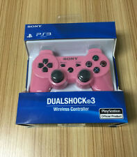 **New Official OEM For Sony PS3 Bluetooth Wireless Dualshock3 Controllers Pink