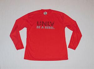 UNLV Rebels Golf Dri-Fit Team Issued Shirt Long Sleeve Size XL NEW