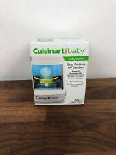 Cuisinart Baby Portable Uv Sterilizer Brand New In Box Fast Free Shipping