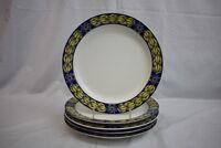 """Set of 5 Royal Copenhagen BLUE PHEASANT 10 1/4"""" Dinner Plates Denmark MINT"""