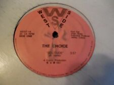 """The Choice Solitude 12"""" Classic House Andrew Komis Komix West Side"""