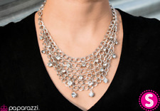 Paparazzi Necklace - Fishing for Compliments - Silver