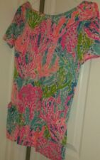 Lilly Pulitzer Esme Knit Dress Lets Cha Cha Girl's Sz Xl 12-14 Holy Grail