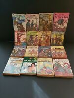 Lot of 16 Vtg 1970s Moby Books Illustrated Classic Editions Pocket Size