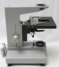 Leitz Dialux Microscope Stand Focus Block Condenser Carrier XY Stage