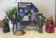 """Doctor Who 7 Figure Lot 6"""" 9th & 10th Rose K-9 - Moxx, Gelth Zombie & Sycorax"""
