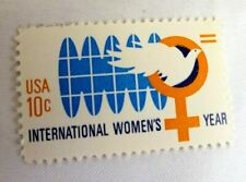 Stamps International Women's Year 1975 10 cents single