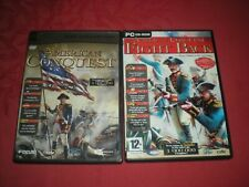 LOT 2 JEUX PC AMERICAN CONQUEST + FIGHT BACK