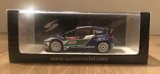 Spark 1/43 Ford Fiesta RS WRC #3 Rally Monte Carlo 2012 J.M.Latvala S3312 New