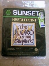 "Sunset Designs ""Lord Is My Sheperd"" Embroidery Kit #5723"
