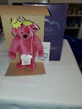 New - Annette Funicello Collectible Bears - Rasbeary - Coa