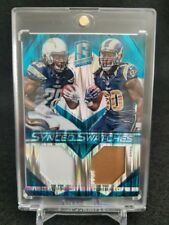 Todd Gurley Melvin Gordon 2015 Panini Spectra Synced Dual Patch RC #d 11/50