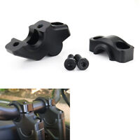 Offset HandleBar Riser Clamp Adapter Fit For Yamaha YFZ450R 13-20 WR125R/X 09-18