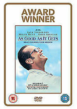 As Good As It Gets (DVD) Nicholson's Obsessive-compulsive obsesses, convulses  H