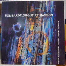 BOMBARDE ORGUE ET BASSON MUSIQUE CELTE COCHERIL/CORBILLON  FRENCH LP C.S.M. 1977