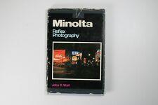 Minolta Reflex Photography by John C. Wolf camera hardcover book