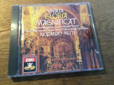 Vivaldi - Magnificat • Gloria [CD Album] EMI Muti Made in Japan