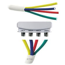 5m Antennenkabel 4-Fach für Quattro Quad LNB Kabel Koaxial 4 in 1 Koaxialkabel