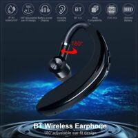 Wireless Bluetooth 5.0 Headphones Driving Headset Handsfree Calling Ear-hook Mic
