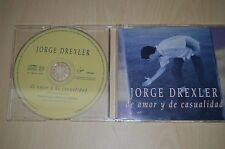 Jorge Drexler ‎– de Amor y de Casualidad. JDES982 CD-SINGLE PROMO