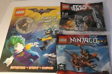 LEGO BATMAN  BOOK AND POLY BAGS