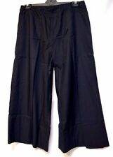 plus sz S / 16 TS TAKING SHAPE Trophy Crop Pants black wide leg NWT! rrp$150