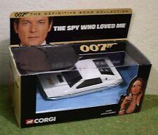CORGI James Bond 007 LA SPIA CHE MI AMAVA LOTUS ESPRIT 65002
